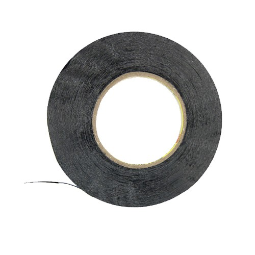 3M 3mm x 50m Double Sided Adhesive Tape Roll for iPhone iPad - Black