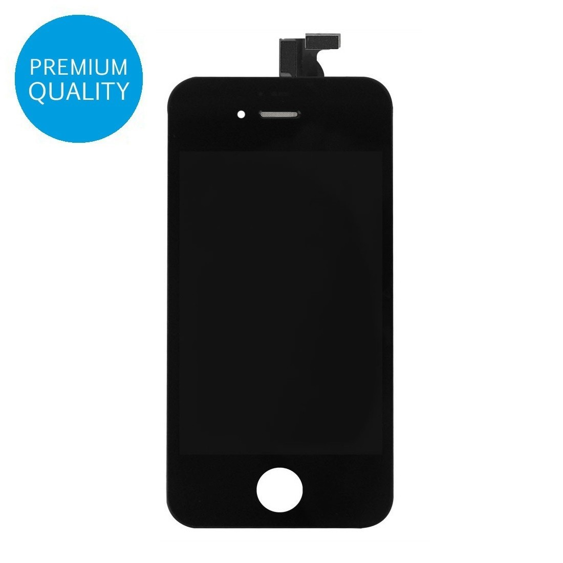 High Quality Touch Screen Digitizer LCD Replacement for iPhone 4 Black