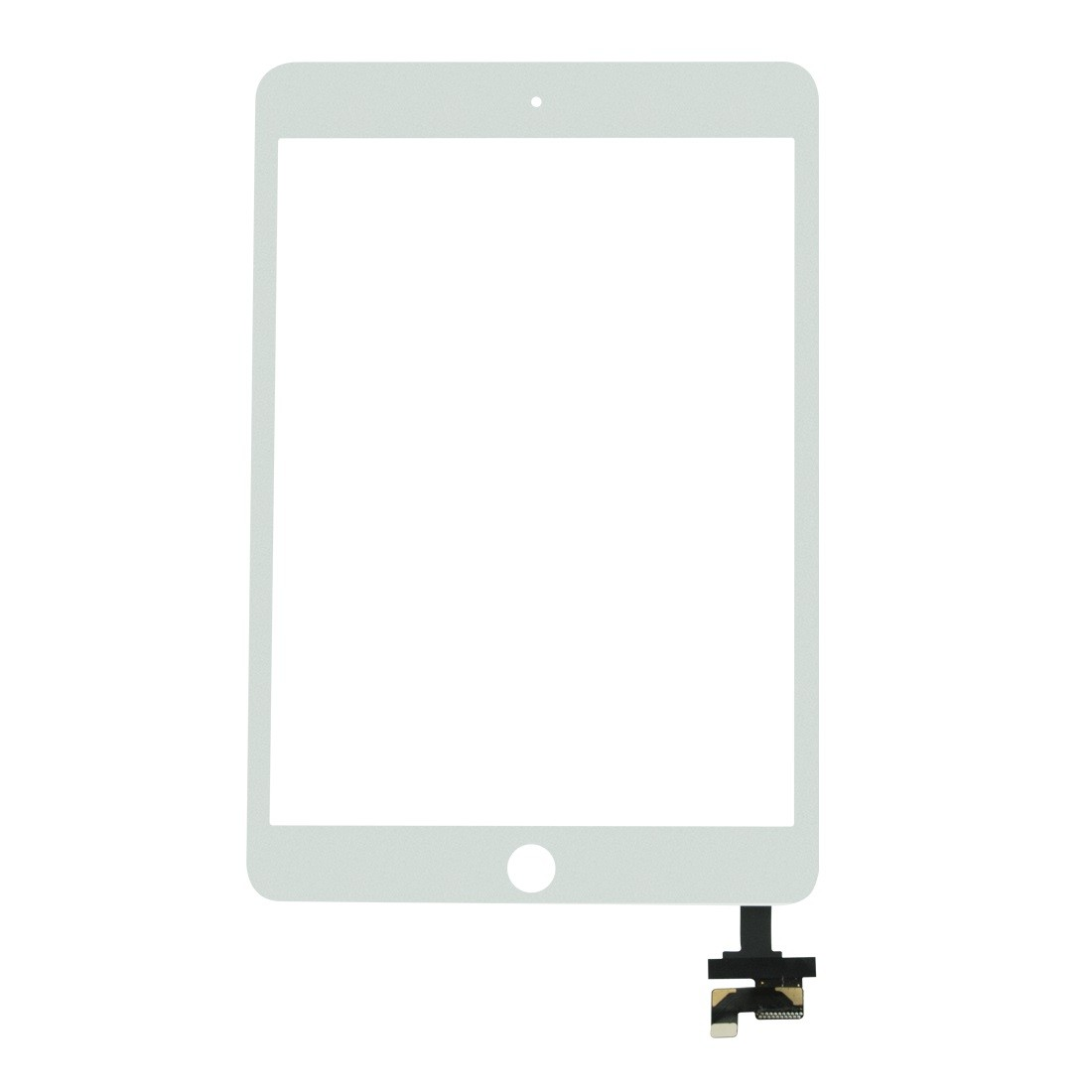 Replacement Digitizer Glass & Pre-soldered IC Flex for iPad Mini 3 White