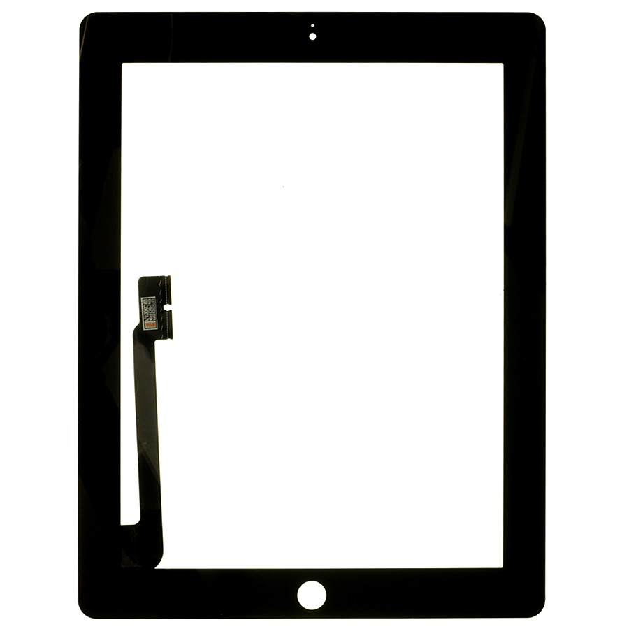 Touch Screen Digitizer Replacement Glass for iPad 3 4 Black