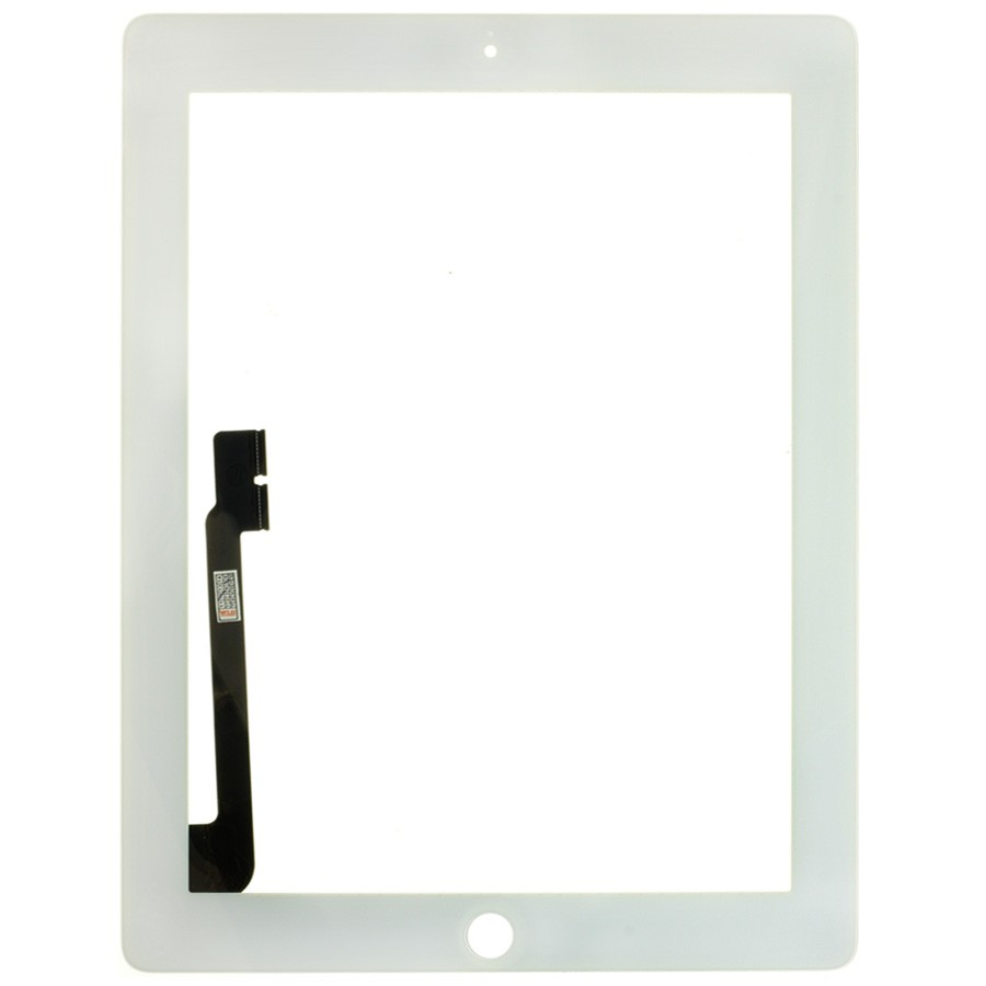 Premium Quality Touch Screen Digitizer Replacement Glass for iPad 3 4 White