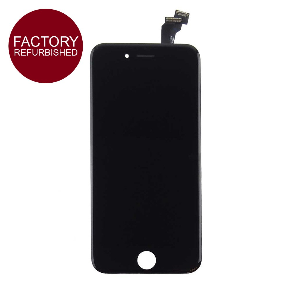 Refurbished LCD & Replacement Screen Digitizer for iPhone 6 Plus Black