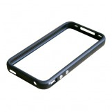 Black Bumper Case Cover for iPhone 4 4S