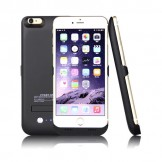 4200mAh Portable Charger Case External Battery Power Bank iPhone 6 Plus Black