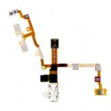 Power Volume Mute Button Headphone Audio Jack for iPhone 3GS White