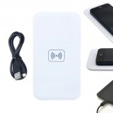 QI Wireless Charger Pad for iPhone Samsung Galaxy S3 S4 S5 Nexus Lumia HTC White