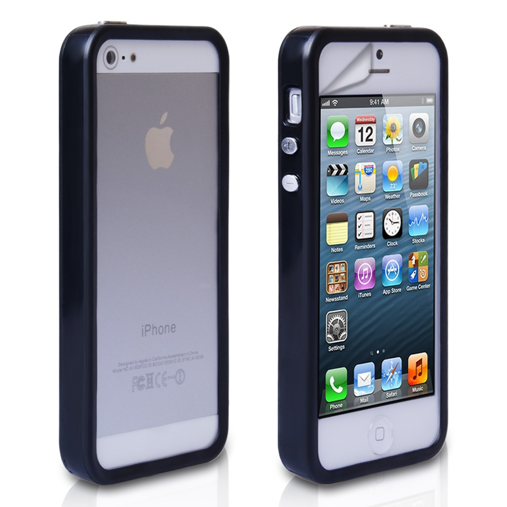 iphone 5s bumper case black bumper cover for iphone 5 5s 14753