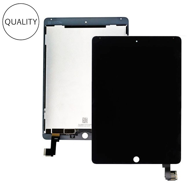 New 9.7 For Apple Ipad Air 2 Ipad 6 A1567 A1566 Lcd Display With Touch Screen Digitizer Panel Assembly Complete With Adhesive Tablet Accessories