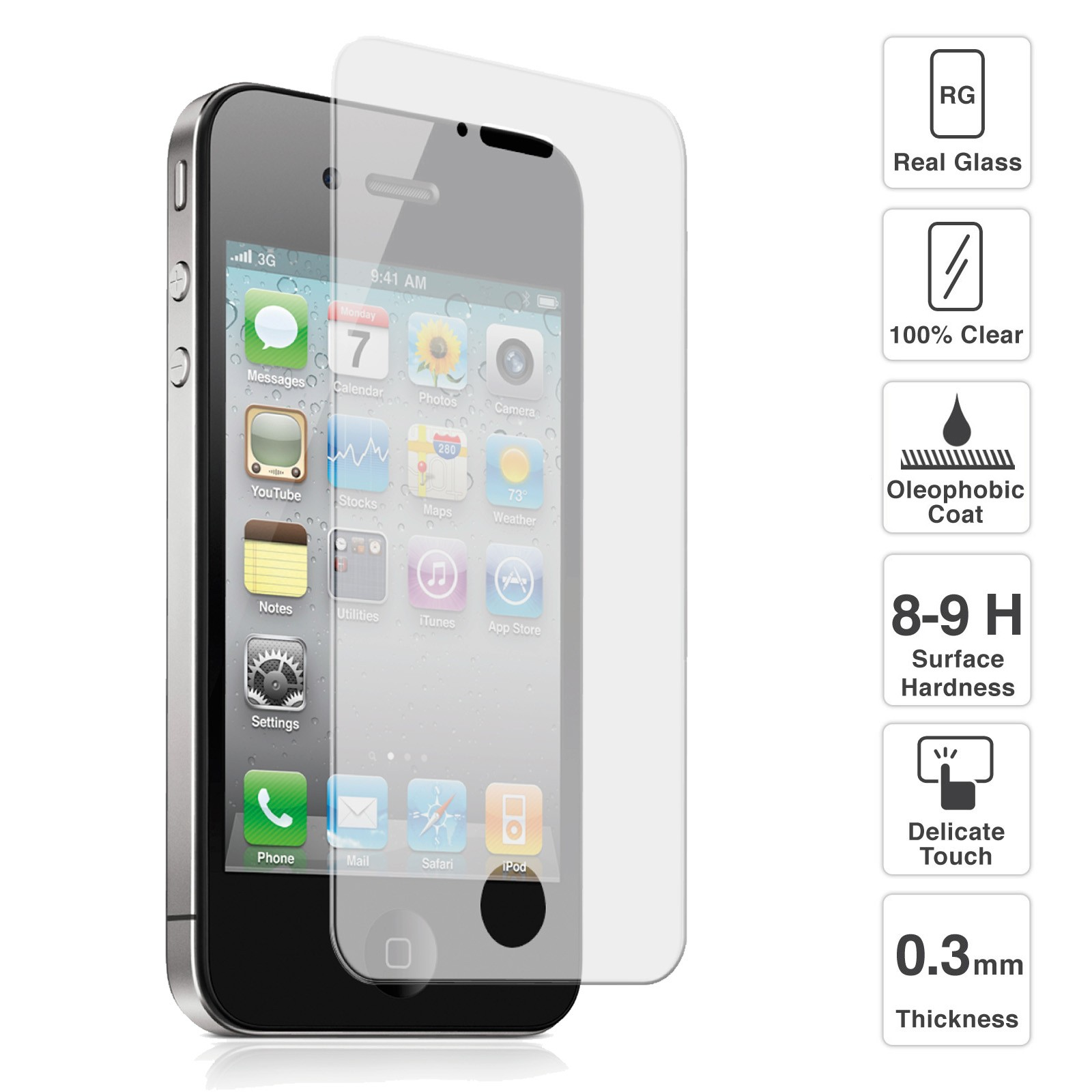 iphone glass protector premium quality tempered glass screen protector for iphone 1897