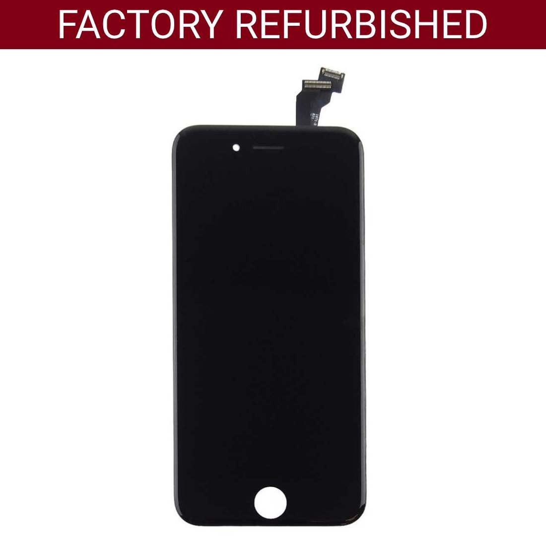 Refurbished LCD & Replacement Screen Digitizer for iPhone 6 Black