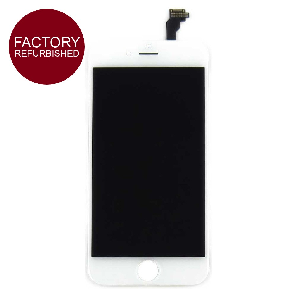 Refurbished LCD & Replacement Screen Digitizer for iPhone 6 Plus White