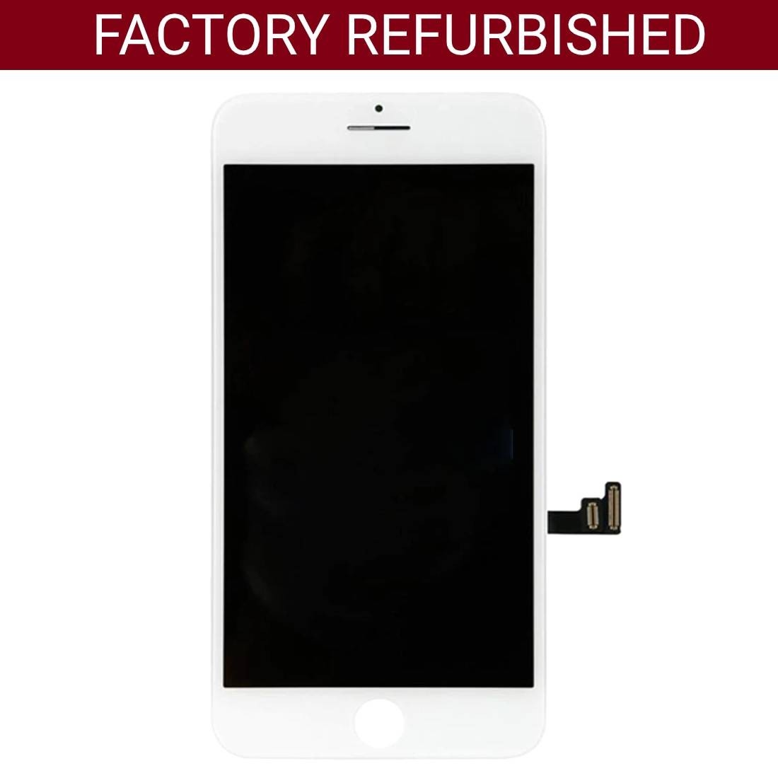Refurbished LCD Screen Replacement for iPhone 7 Plus White 5.5""