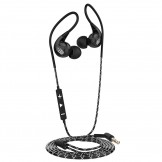 Langsdom SP90 Noise-Cancelling High Performance Sport Headphones - Black