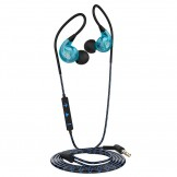 Langsdom SP90 Noise-Cancelling High Performance Sport Headphones - Blue