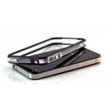 Black and Clear Bumper Case Cover for iPhone 4 4S Bumper Cover Case