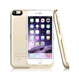4200mAh Portable Charger Case External Battery Power Bank iPhone 6 Plus Gold