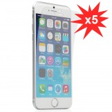 5 pack Screen Guard Front Anti-UV LCD Screen Protector for iPhone 6