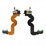 Dock Connector Headphone Jack Flex Cable Replacement For iPod Touch 5G Black