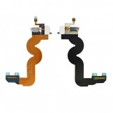 Dock Connector Headphone Jack Flex Cable Replacement For iPod Touch 5G White
