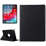 "360° Rotating Smart Stand Case Cover for iPad Pro 2018 12.9"" Black"