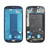Middle Frame Plate Bezel Housing Chassis for Samsung Galaxy S3 i9300 Black