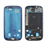 Middle Frame Plate Bezel Housing Chassis for Samsung Galaxy S3 i9300 Blue