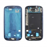 Middle Frame Plate Bezel Housing Chassis for Samsung Galaxy S3 i9305 Blue