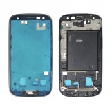 Middle Frame Plate Bezel Housing Chassis for Samsung Galaxy S3 i9300 White